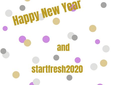 startfresh2020 - Mach 2020 zu DEINEM Jahr!