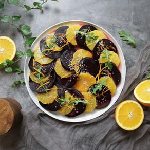 홈파티용 구운 비트 오렌지 샐러드 | 비트 굽는 두 가지 방법