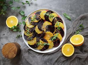 홈파티용 구운 비트 오렌지 샐러드   비트 굽는 두 가지 방법
