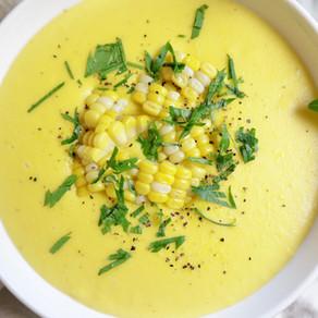 세상에서 제일 쉬운 옥수수 스프 | 단 2가지 재료로 | 여름과 가을 사이에 | Sweet Corn Soup | 2-ingredients corn soup!