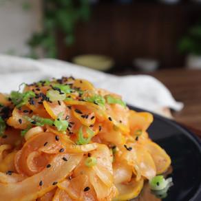 향긋한 참외향 듬뿍 담아 오독오독 더 맛있는 참외무침! | Seasoned Korean Melon🍈(vegan)