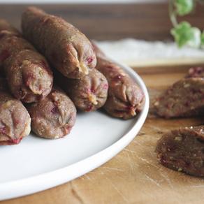 홈메이드 소시지 만들기 | 비건버전 | 육가공품 대신 고기 없는 소시지 만들기