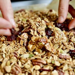 오트밀 그래놀라 | Homemade granola | quick+easy+healthy