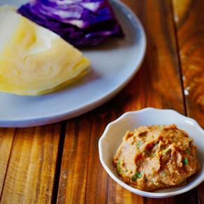 양배추쌈과 바로먹는 생된장 | Cabbage Wrap & Fresh Soybean Paste