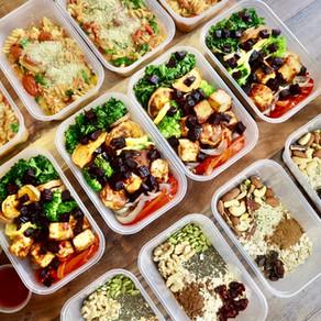 건강하고 맛있는 밀프렙   healthy+delicious vegan meal prep