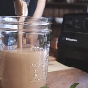 초코콩 쉐이크 | 100% 생카카오+바나나+콩쉐이크 | 아침식사로 참 좋은 단백질 쉐이크 | 초코 쉐이크 | 맛있는 콩쉐이크 레시피