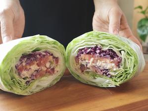 비건 참치 샐러드와 빵 없는 샌드위치 | 언위치 | 손으로 들고 먹는 샐러드! 너무 맛있어요!! Vegan Tuna Unwich!! Vegan unwich for weight lo