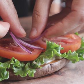 고구마빵 샌드위치 | 글루텐프리 샌드위치 | 마요+상추+토마토+양파 샌드위치