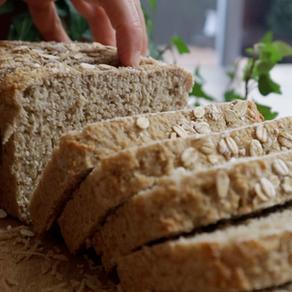 보리귀리빵 | 세상에서 제일 쉬운 통곡물 식빵 | Best Vegan Whole Grain Bread Ever!
