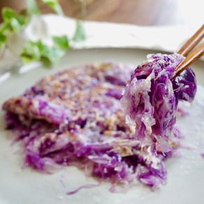 양배추전 | 밀가루 없이 전 부치기 | Cabbage pancake with potato starch
