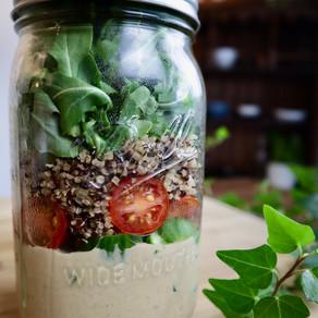 퀴노아 샐러드 | 병 샐러드 | Mason Jar Salads for Summer | Quinoa Salad