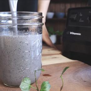 베리콩 쉐이크 | 블루베리+바나나+콩쉐이크 | 아침식사로 참 좋은 단백질 쉐이크 | 보라 쉐이크 | 맛있는 콩쉐이크 레시피