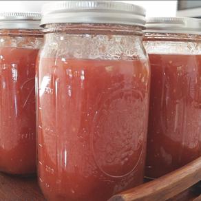만병통치 치유제로 불리는 토마토 캔닝 만들기!