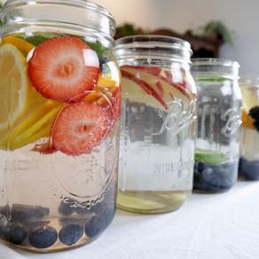 8가지 디톡스 워터 | 물을 더 맛있게 | 8 ways Infused Water | Drink more Water!