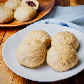 여섯가지 곡식으로 만드는 육곡찐빵   Six- Grain Steamed Bun