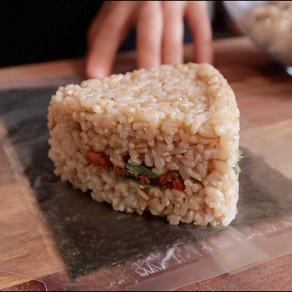 삼각김밥 아이디어 셋! | 두부고추장 볶음, 단무지 아보카도, 김치 마요 삼각김밥!