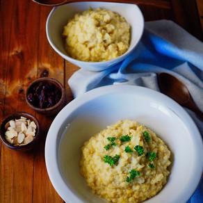 콜리플라워 녹두 리조또 |Cauliflower Mung Bean Risotto |