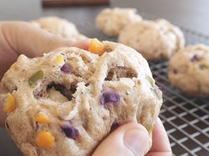 세상에서 제일 간단한 빵, 채소빵 | 자투리 채소로 오븐없이 만드세요!