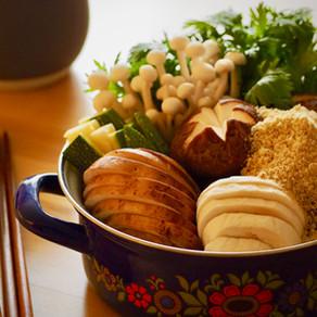 고소하고 담백한 보양식, 들깨 버섯 전골 | Mushroom Hotpot W Perilla Powder