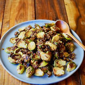 동글동글 귀여운 방울양배추 오븐 구이 | Roasted Brussels Sprouts