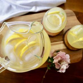 쉬운 홈메이드 레모네이드🍋 | 물을 더 맛있게 | easy homemade lemonade | Drink more Water!