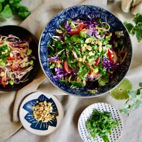 땅콩소스 쌀국수 | Rice noodle and peanut sauce