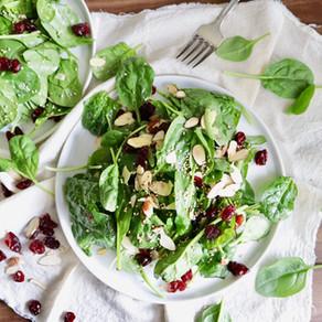 시금치 샐러드 | 쉽게 맛있게 | spinach salad | healthy+easy!