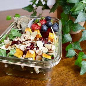 단호박 샐러드 | 쿠스쿠스 샐러드 | Kabocha Salad | healthy+easy+yummy!
