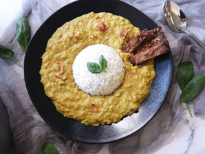 렌틸 카레 | 맛있는 카레 만들기 | 호로록 호로록, 첨가물 없이 단순하게! | 건강하고 맛있는 카레, 이제 직접 만들어 드세요!