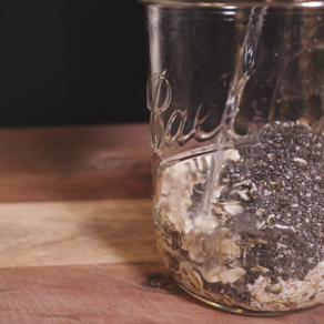 오트밀을 가장 편안하게 먹을 수 있는 6 가지 방법!! 오버나잇 오트밀 | 치아씨 오트밀 | 6 Chia Overnight Oats!!