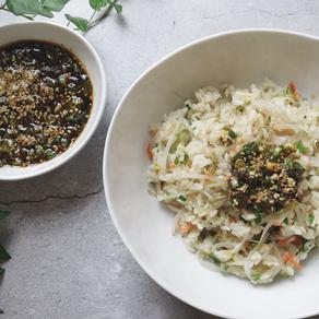 아삭아삭하고 촉촉한 숙주나물밥 | 전기밥솥으로 만드는 한그릇 레시피 | 나노미와 함께 하는 밥 이야기 | 나노미 무료체험 있어요!