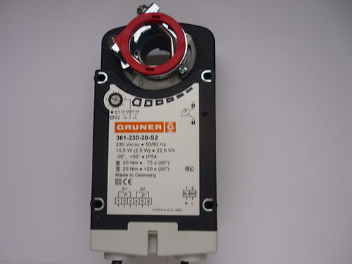 Spring Return Damper Actuator 361-230-20-S2