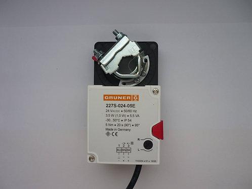 Quick Running Damper Actuator 227S-024-05