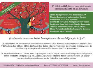 MIRADAS: Grupo terapéutico de acompañamiento en la crianza