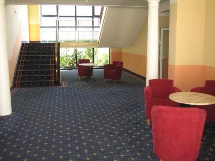 Hausflur in einem Hotelgebäude