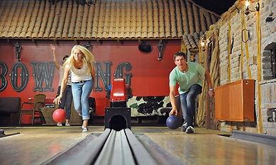 Bowlingbahn im Dorf Wangerland