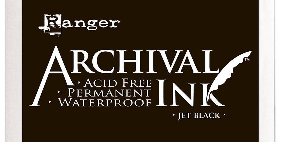 Ranger Archival Ink - Jet Black