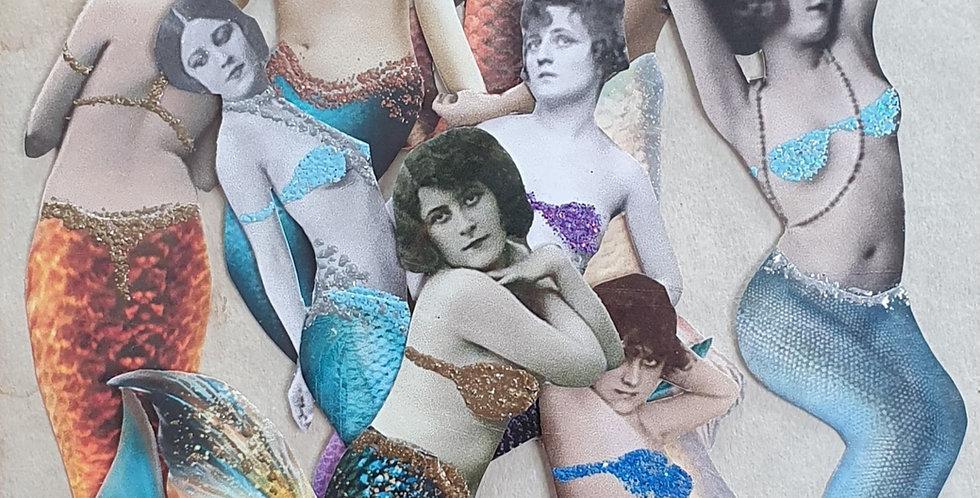 Sea Sirens Paper Dolls