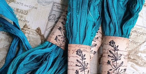 Ocean Sari Ribbon Bundle