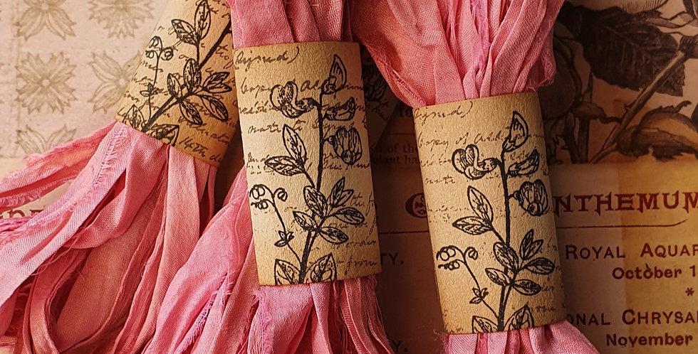 Dust Pink Sari Ribbon Bundle