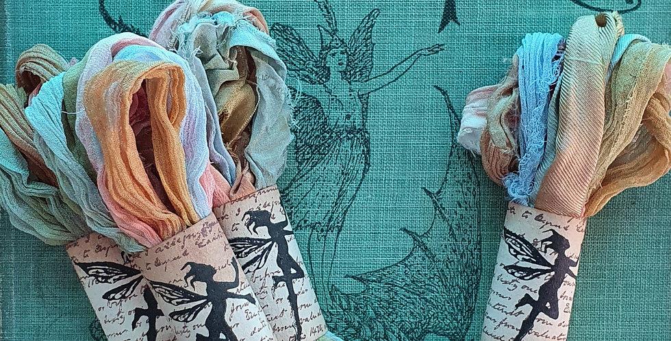 Fairy Glen Indian Silk Ribbon Bundle