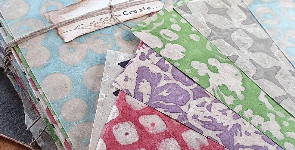 Handmade Wax Paper