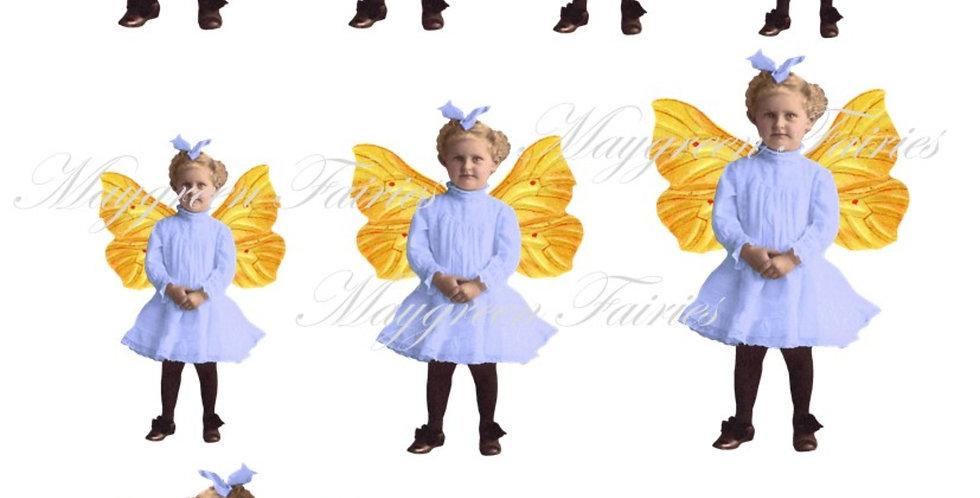 Sicklehatch Fairy Collage Sheet