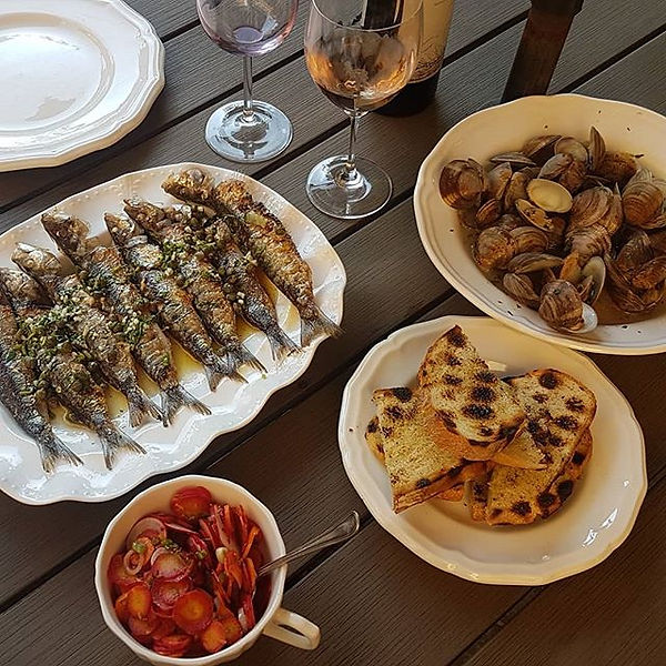 Summer's first sardines! Coming this wee