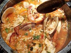 Monkfish & Seafood rice