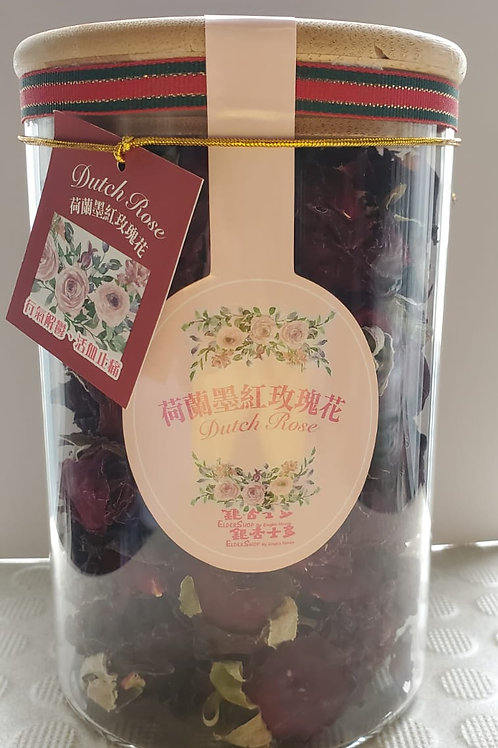 FAW031 SPA花瓣/花茶禮品裝 - 荷蘭墨紅玫瑰花冠王(特級)60g
