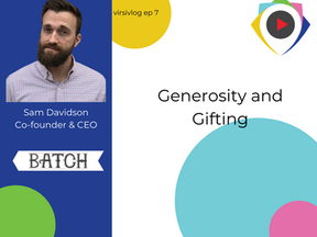 Generosity and Gifting with Batch - virsivlog ep 7