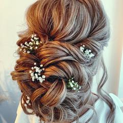 soft wedding hairstyle