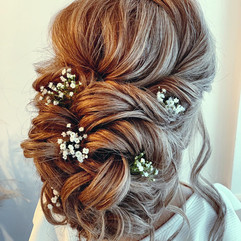 soft wedding hairstyle