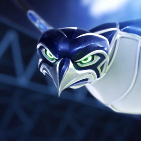 Seahawks Stadium Graphics